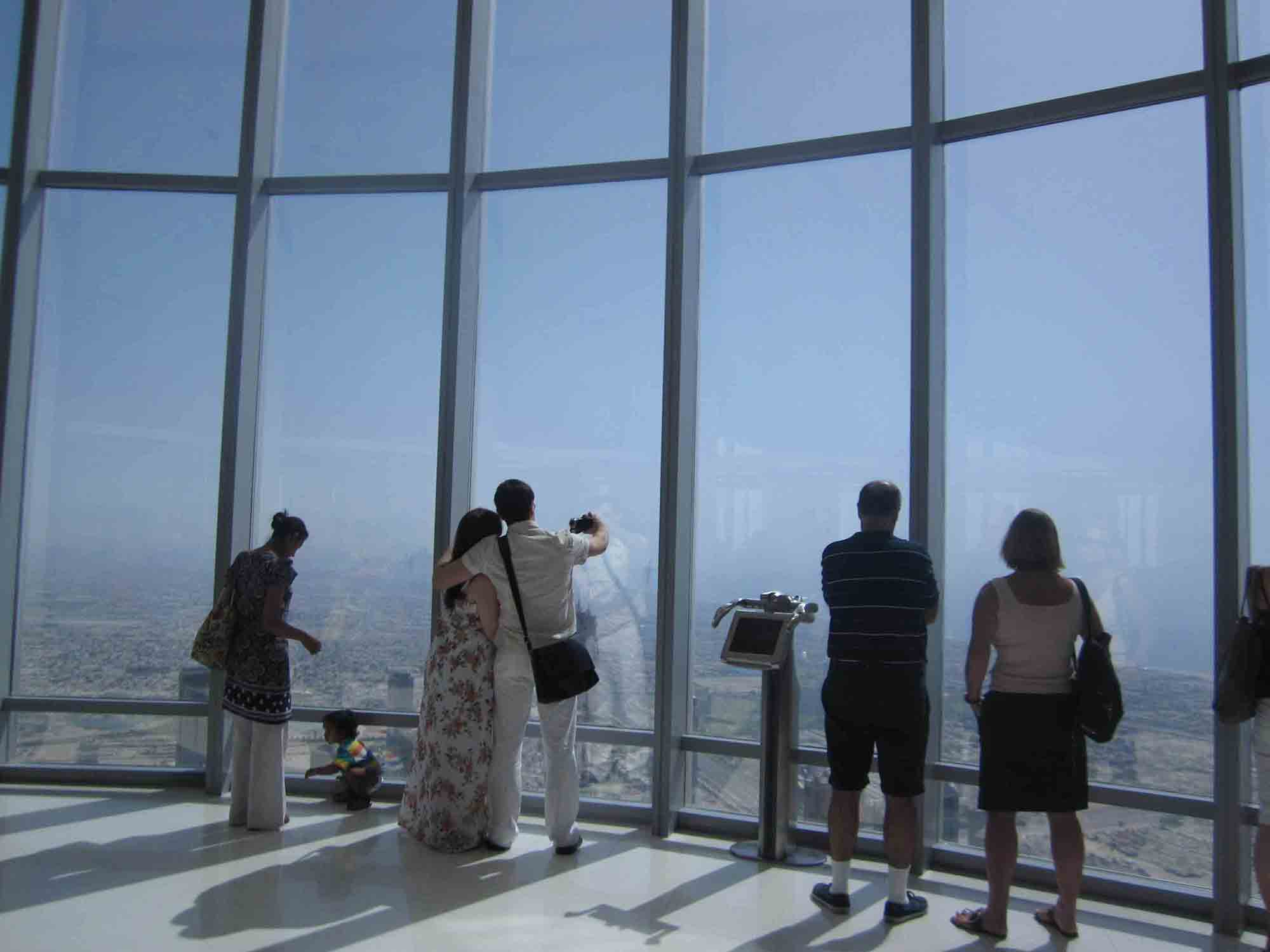At the Top in Burj Khalifa