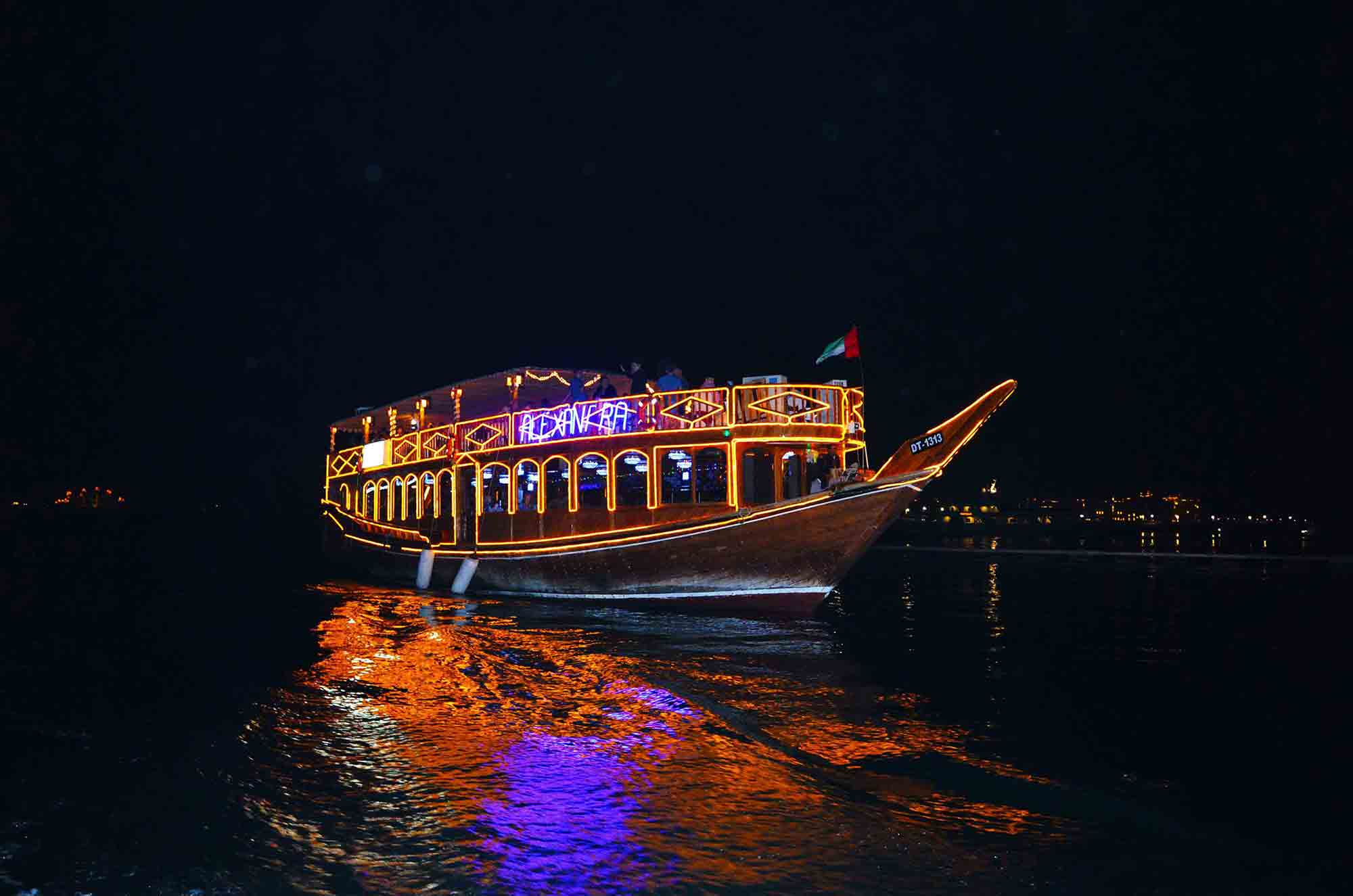 Dinner Cruise on the Dubai Creek