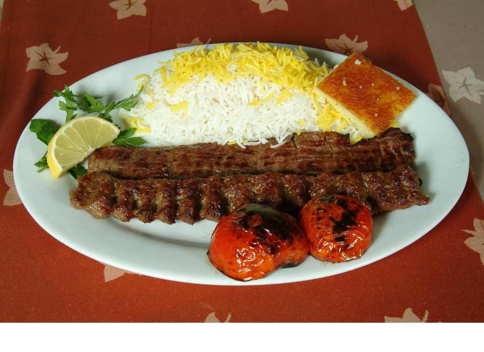 Iranian Chelo Kebab