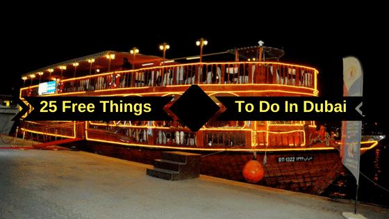 25 Free Things to Do in Dubai