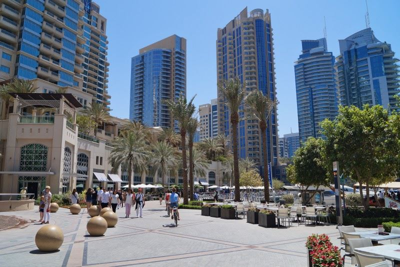 JBR walk at Dubai Marina Mall