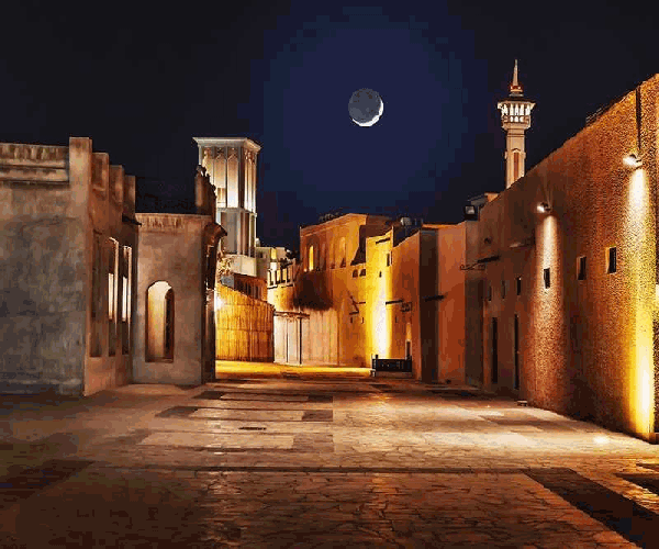 visit to Bastakiya Quarter is most free things to do in old dubai