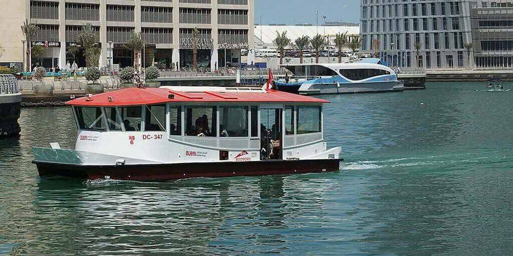 Marina Water Bus Dubai