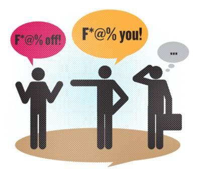 Swearing in Dubai