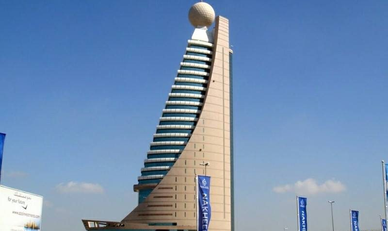 Etisalat Tower the tourist places to visit in sharjah