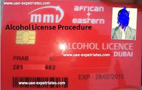 Alcohol license iN DubaiAlcohol license iN Dubai