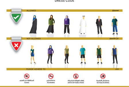 Dress Code to be followed in Dubai