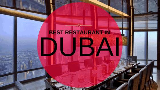 Best restaurants In Dubai
