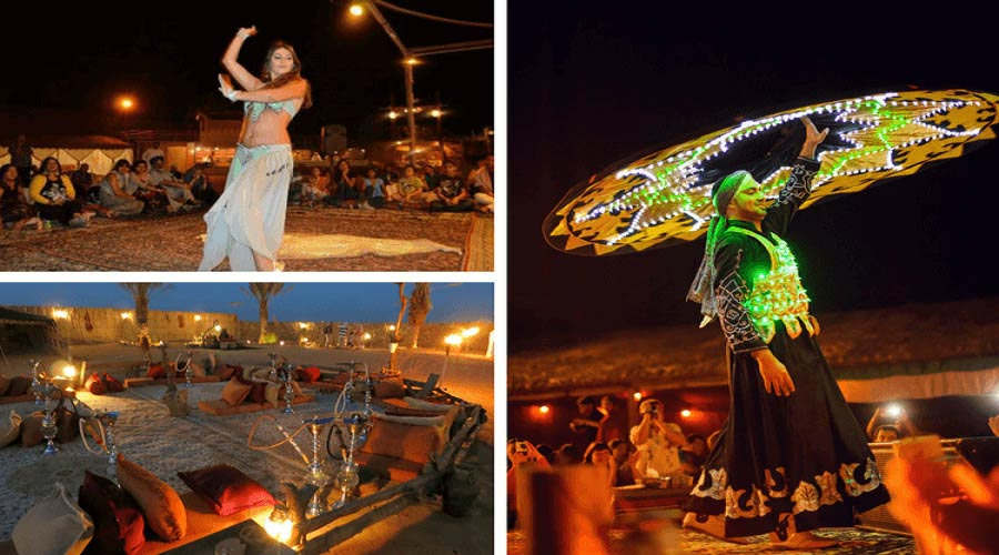 image and Pictures oF Dubai Desert Safari Activities Carried Out in the Camp