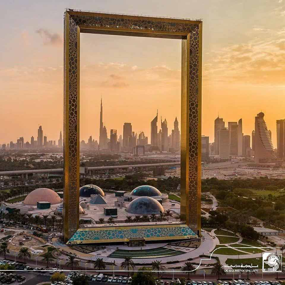Dubai Frame the largest Picture Frame in the world