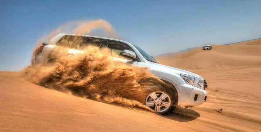 Dubai desert safari images and pictures of Dune Bashing