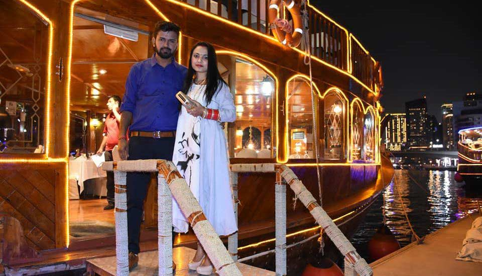 Dress Code In Dhow cruise Dubai images and photos