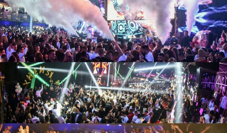 night life pics of Dubai Cavalli Club