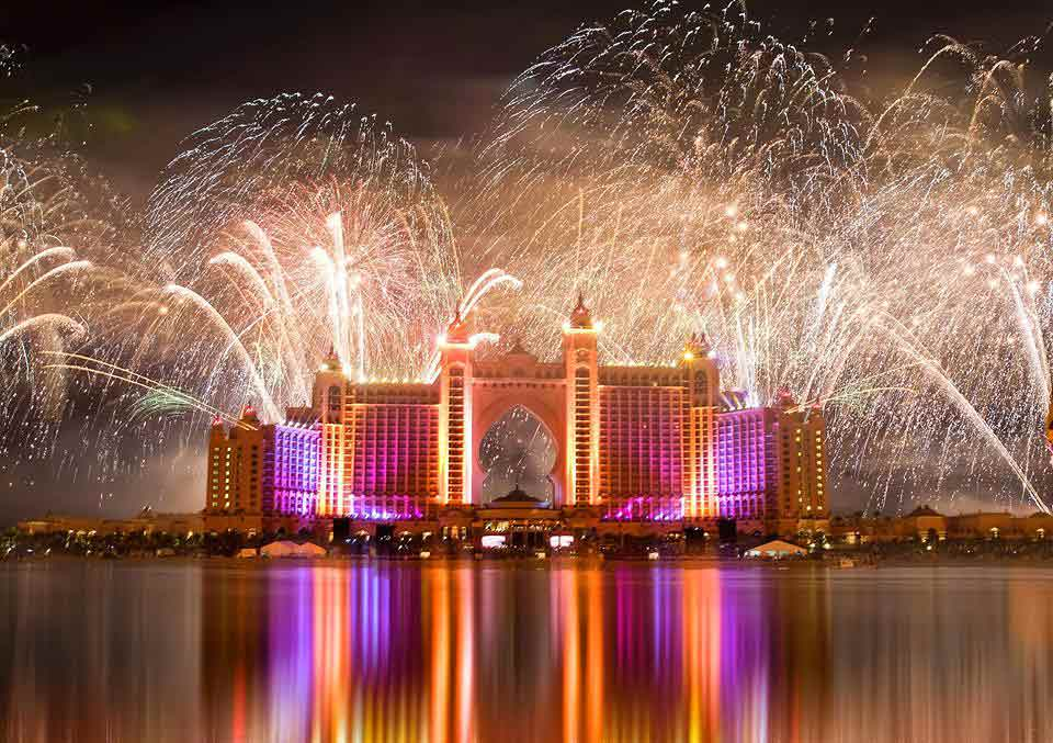 New Year Celebrations at Atlantis the Palm