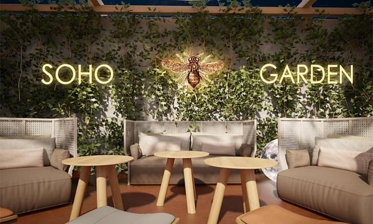 Soho Garden new year party
