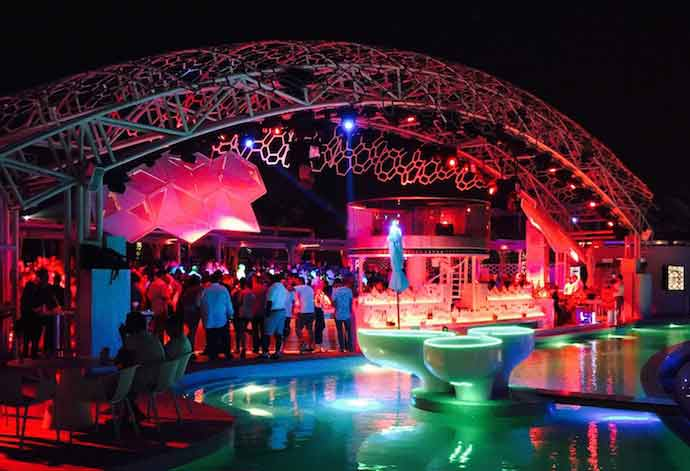 Eden beach club in dubai is perfect place to celebrate birthday