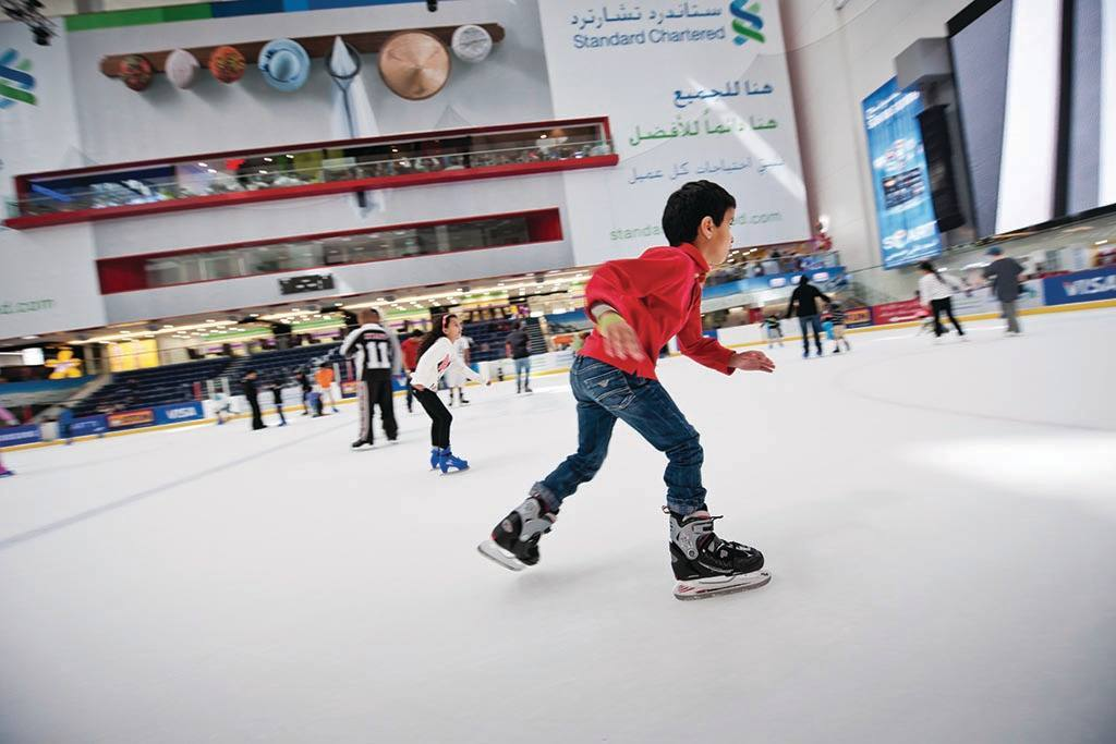 Skate at Dubai Ice Rink