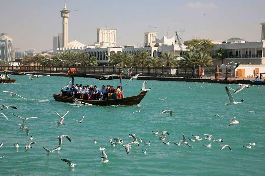 Abra Tour on Dubai Creek