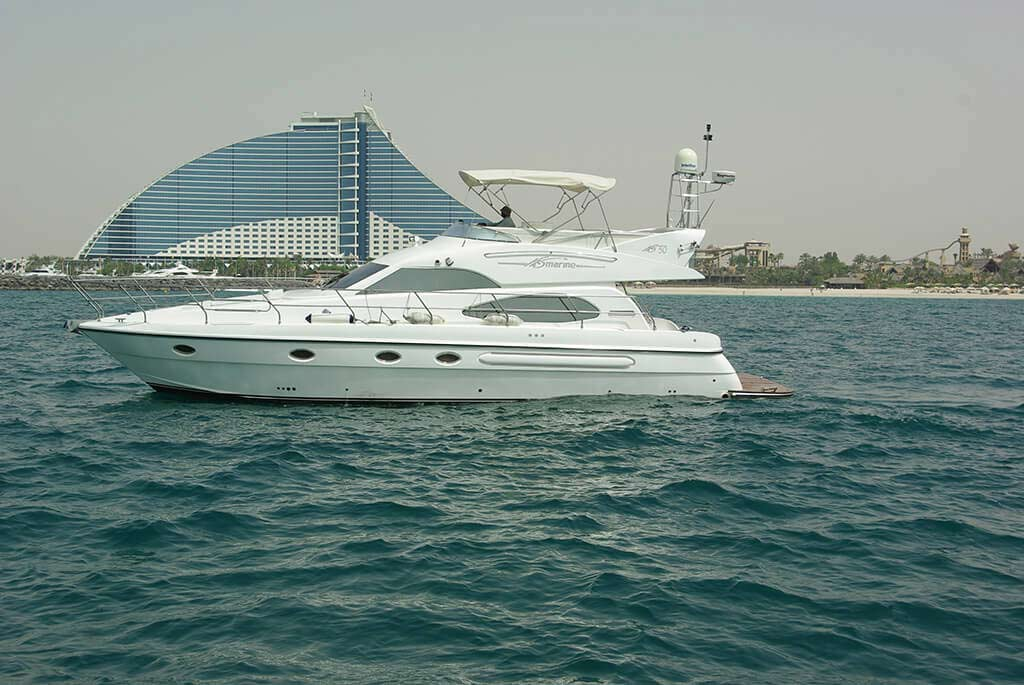 Palm Jumeirah by Yacht