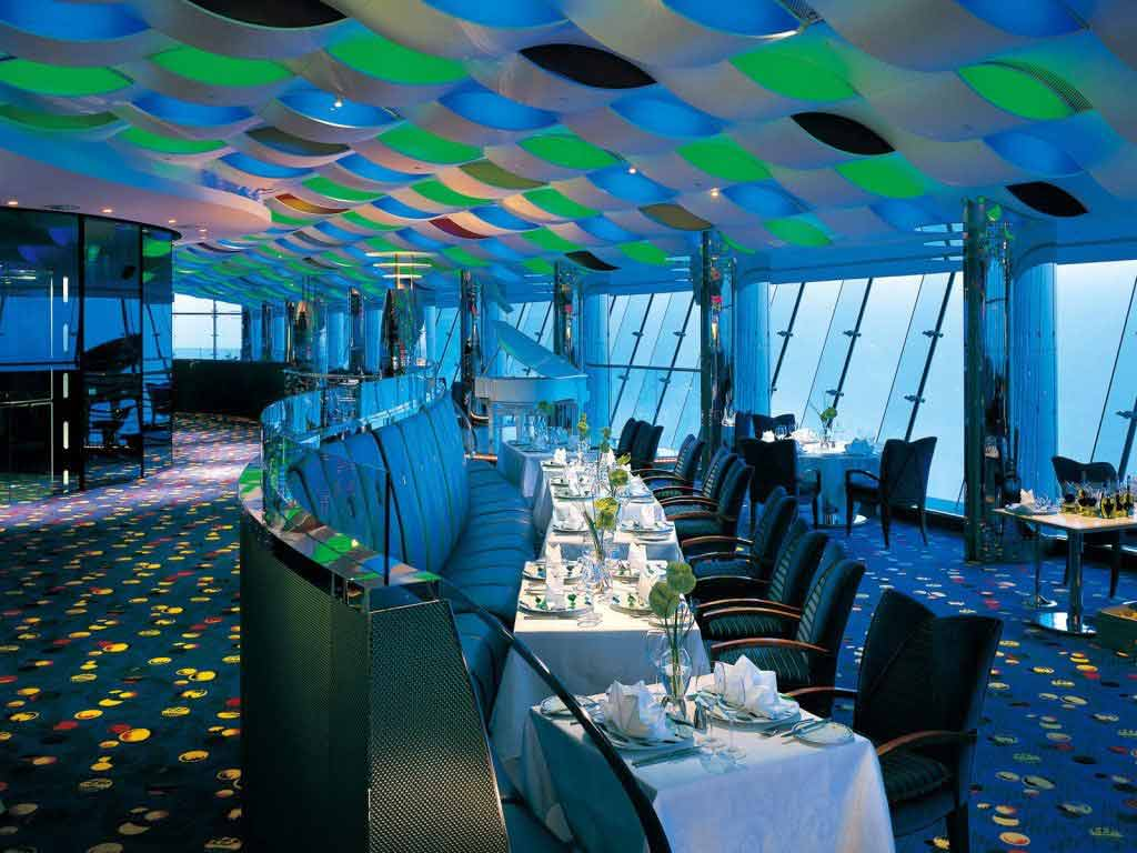 Burj Al Arab Restaurant Dubai