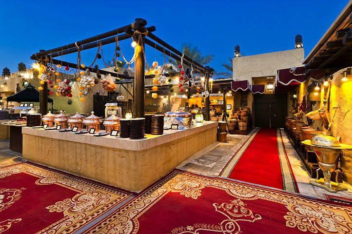 Al Hadheerah restaurant In Dubai Desert Safari