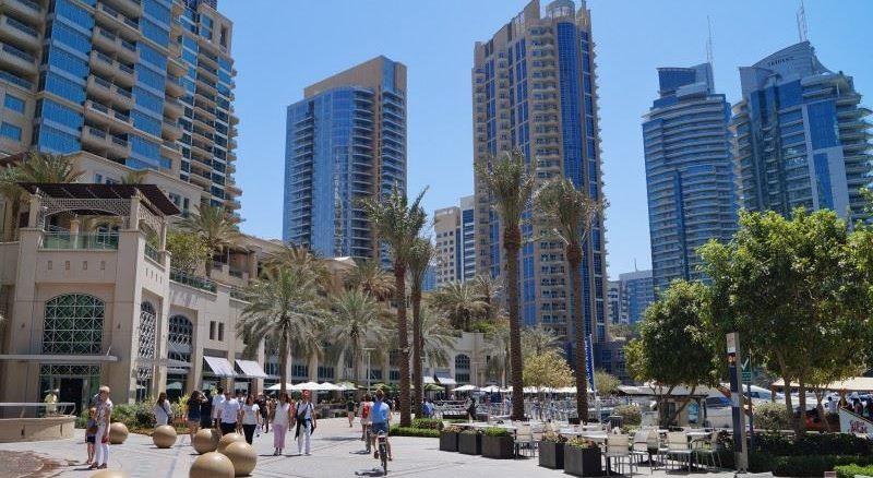 JBR walk at Dubai Marina Mall