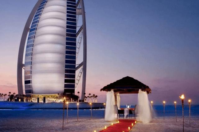 Romantic Destination at Majlis Al Bahar, Dubai