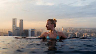 sky park pool singapore