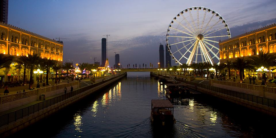 Al Qasba is the most hotspot tourist destination to visit in sharjah