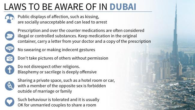 Rules to be Followed in Dubai