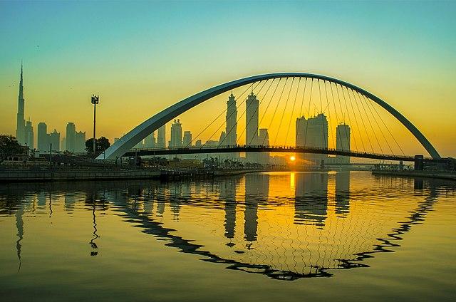 Dubai Water Canal Tolerance Bridge