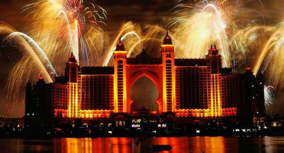 Atlantis The Palm Fireworks