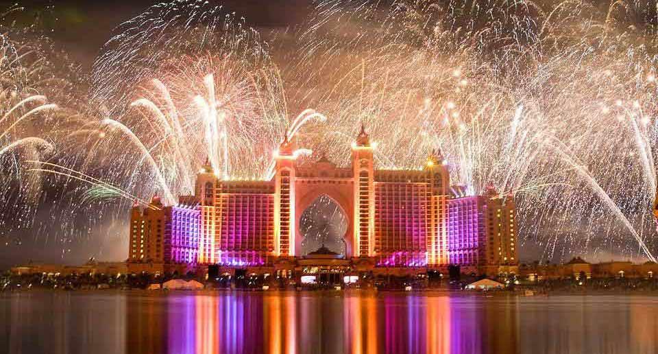 New Year Celebrations at Atlantis the Palm
