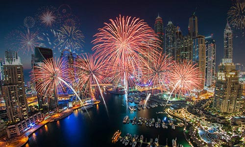 New Year Party At Dhow Cruise In Dubai Marina And Creek