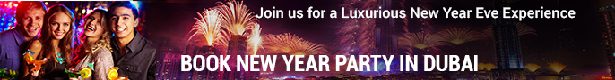 new year party dubai banner
